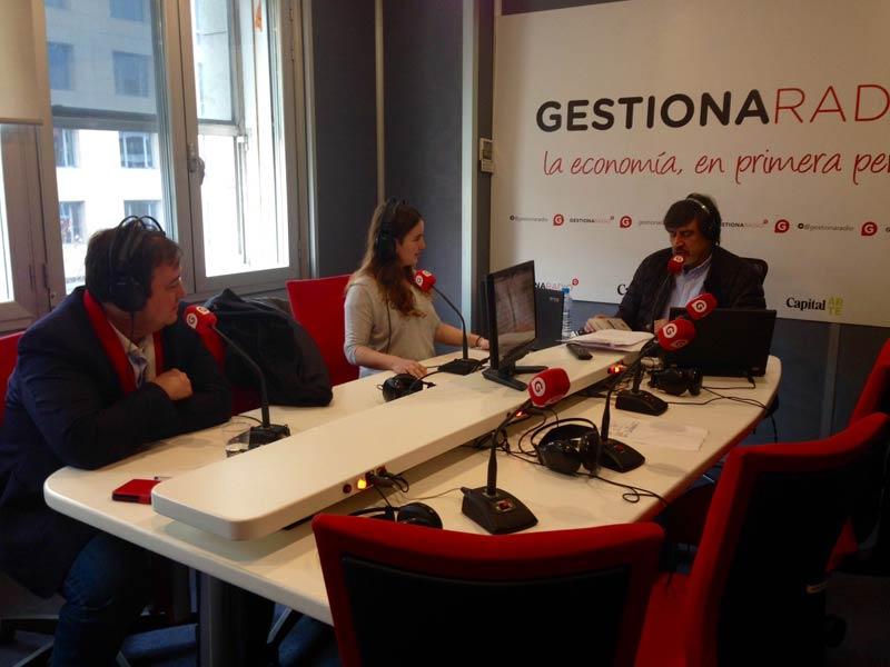 Borja Pascual presenta aNerea en Gestiona Radio