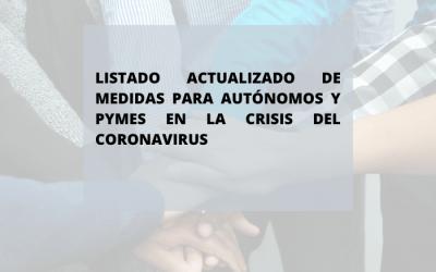 Las medidas para autónomos y pymes en la crisis del COVID-19