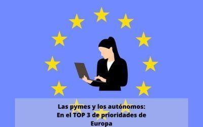 Autónomos y pymes entre las prioridades de gasto de la Unión Europea